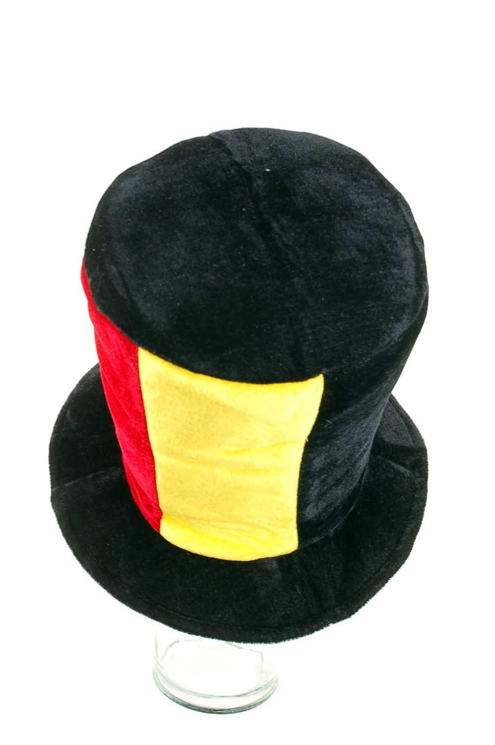 Zylinder Hut Deutschland schwarz rot gelber