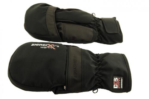 ZIENER Ski Handschuhe extra warm DCS Gaucho 12 schwarz