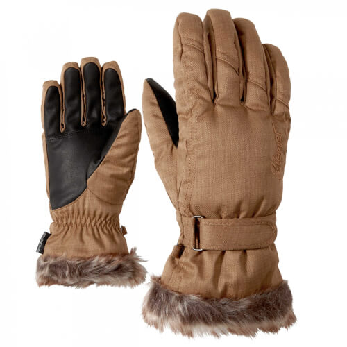 ZIENER Ski Handschuhe Kim 936 braun
