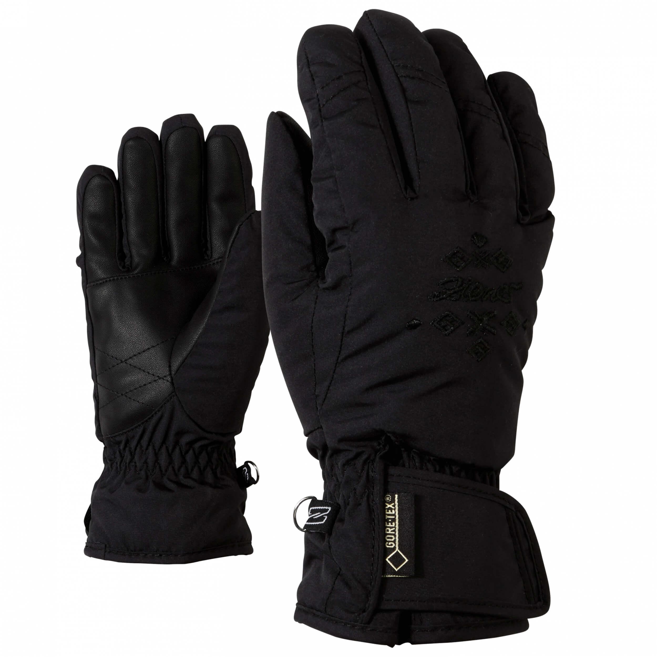 ZIENER Damen Ski Handschuhe Kwinta 12 schwarz