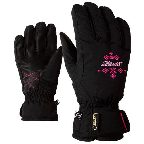 ZIENER Damen Ski Handschuhe Kwinta 12766 schwarz