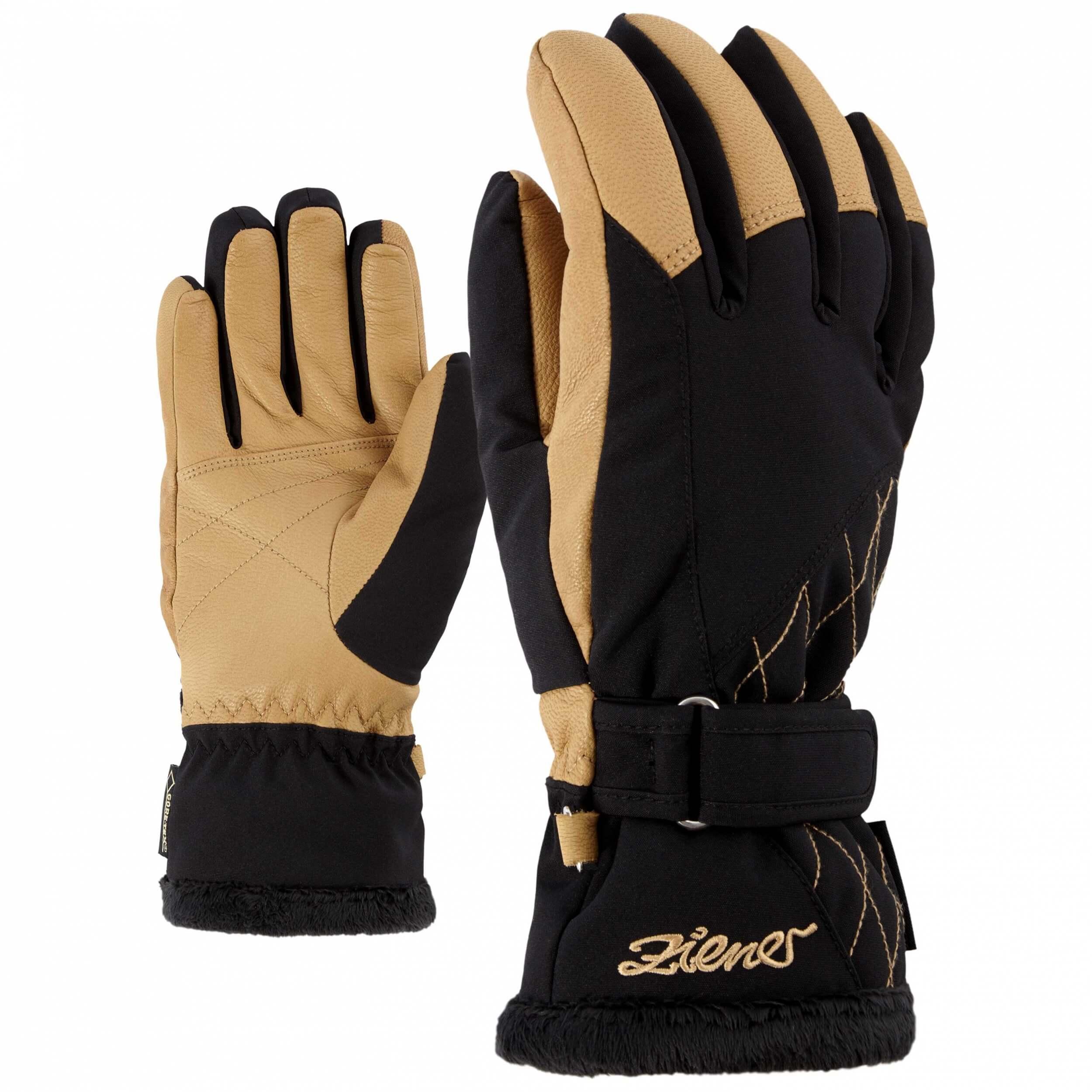 ZIENER Ski Handschuhe Katlen 12403 beige