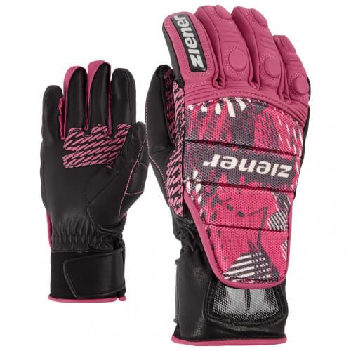 ZIENER Ski Race Handschuhe Grib 766 pink