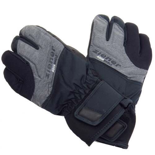 ZIENER Ski Handschuhe Gelmo 822 grau