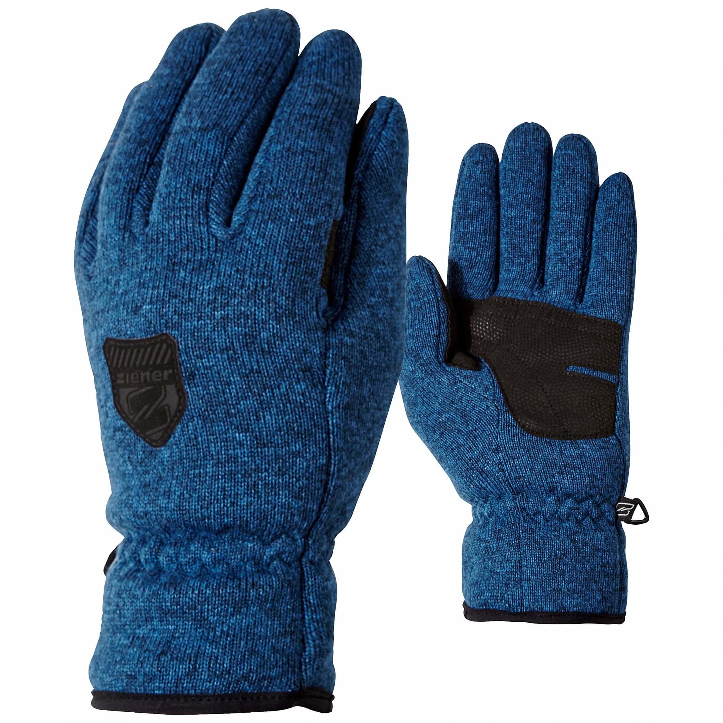 ZIENER Winter Handschuhe Imagiosso blau 760