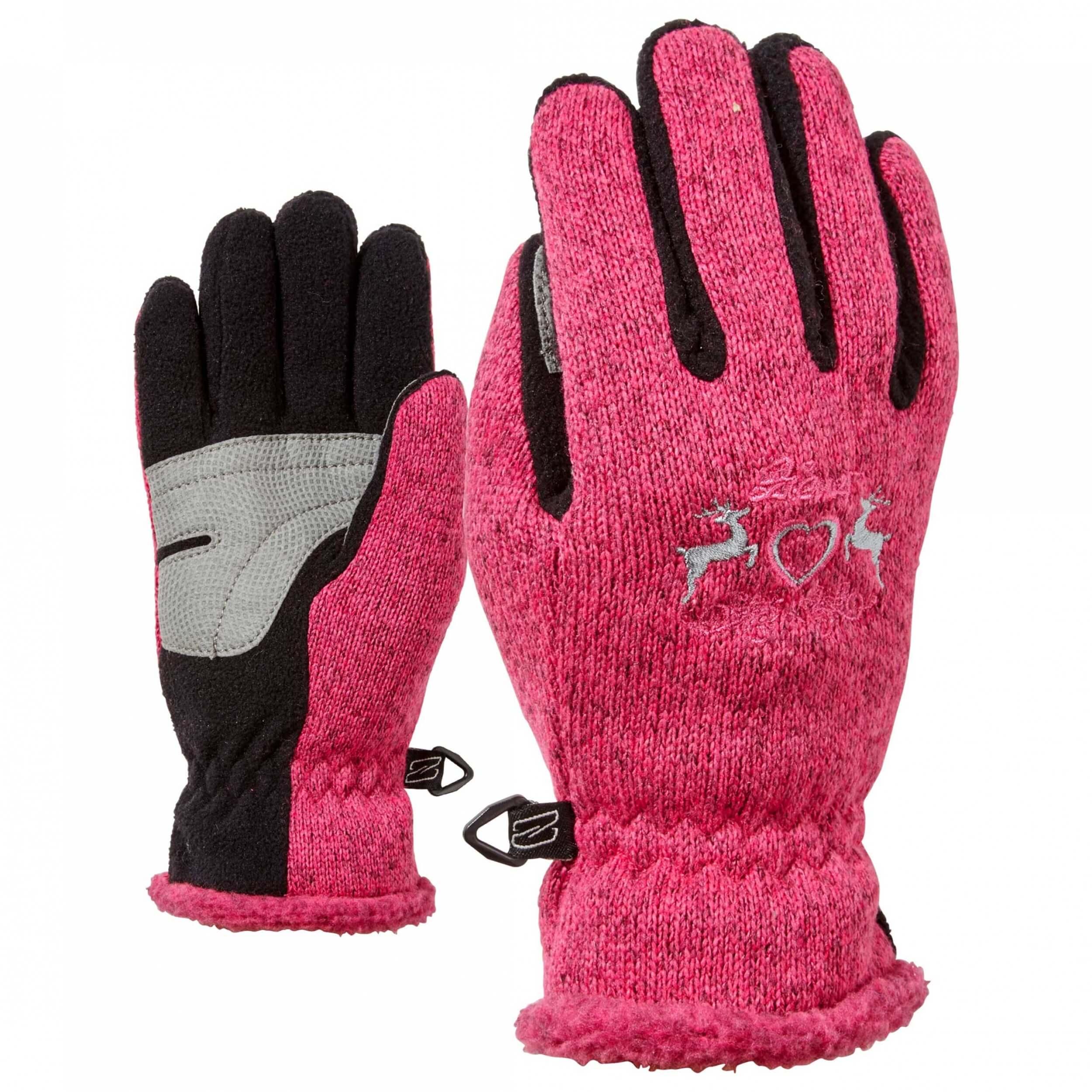 ZIENER Winter Handschuhe Ilmariana pink 766