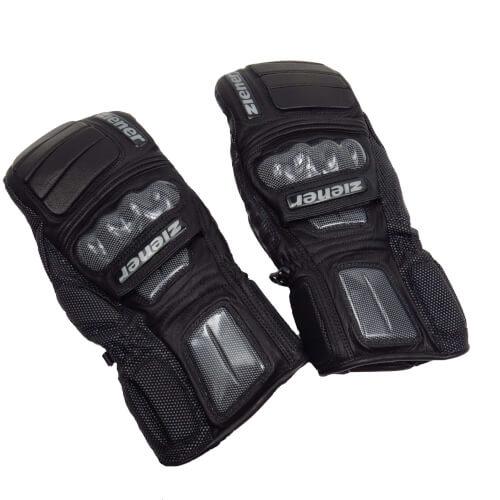 ZIENER Ski Race Handschuhe Grand View Mitten 12 schwarz