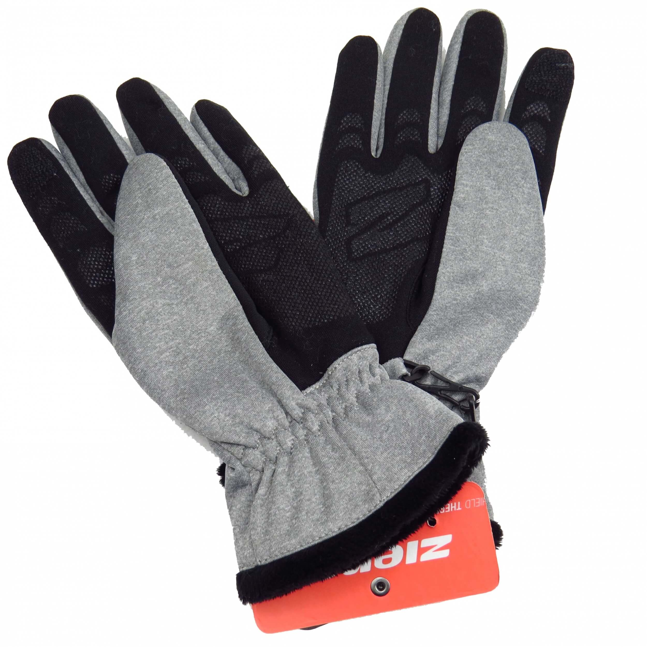 ZIENER Winter Handschuhe Ionna grau 752