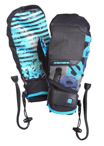 ZIENER Ski Cross Handschuhe Xomenik 12231 blau