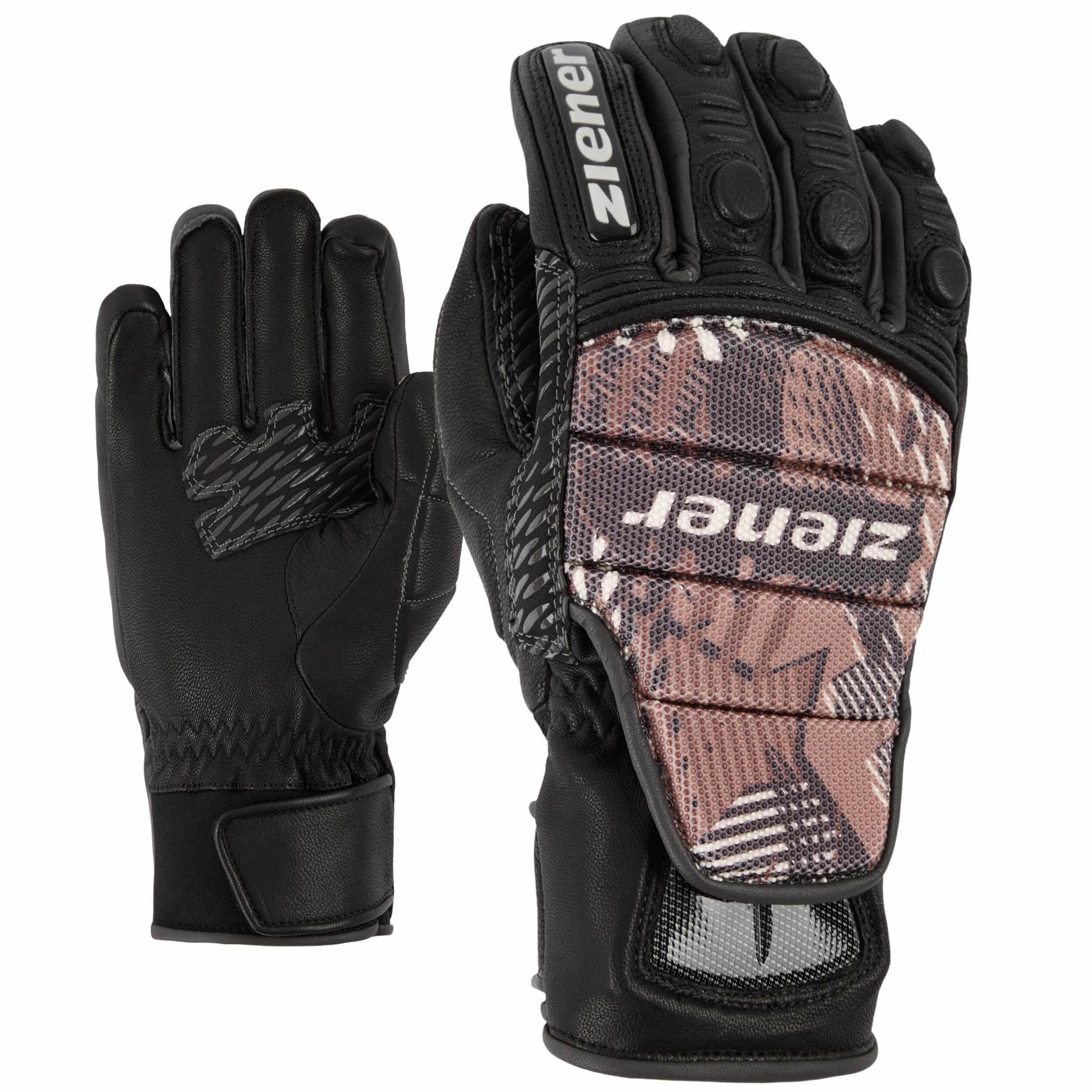 ZIENER Ski Race Handschuhe Grib 15 grau
