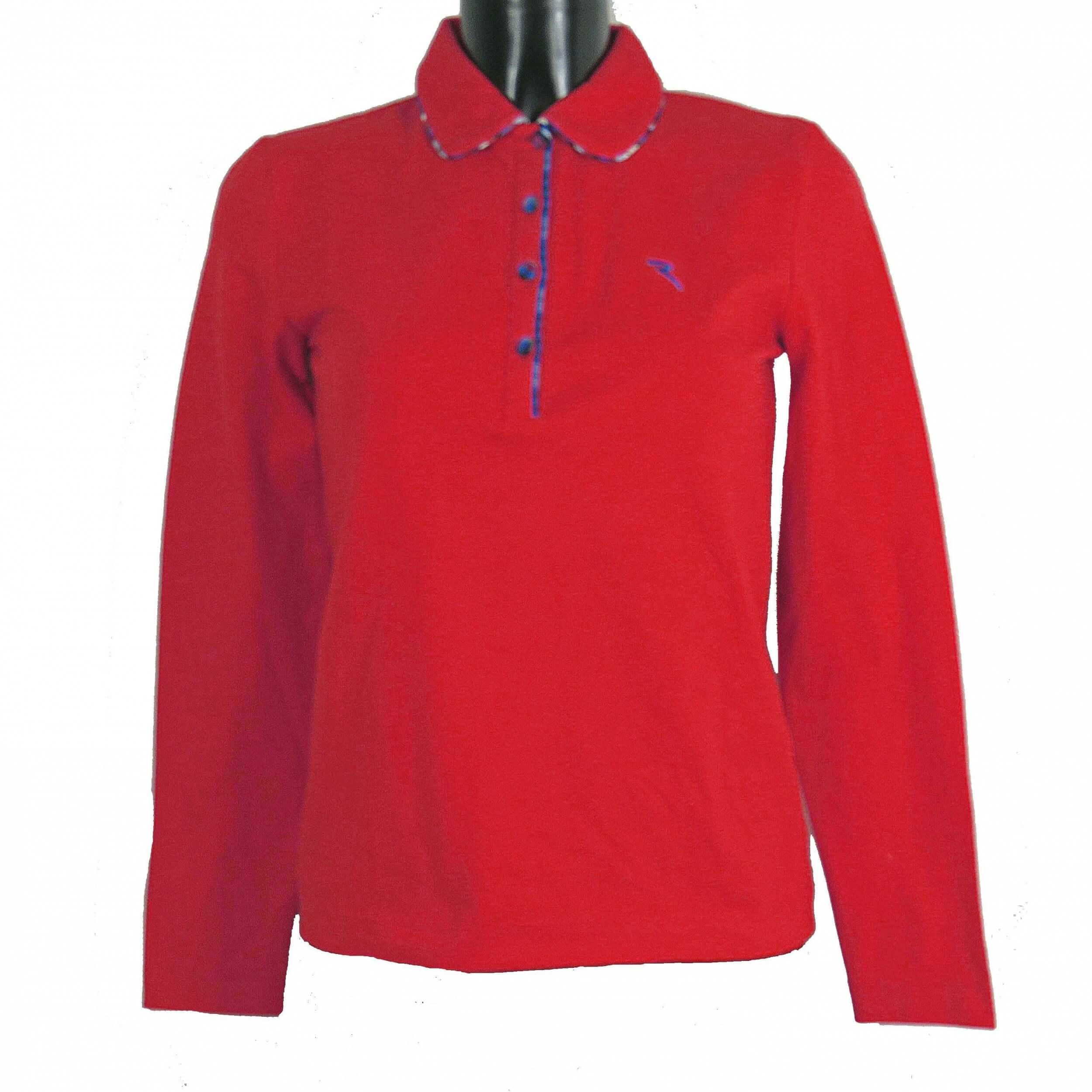 Chervo Polo Golfpolo lang Arm Aleton 850 rot Gr. 36