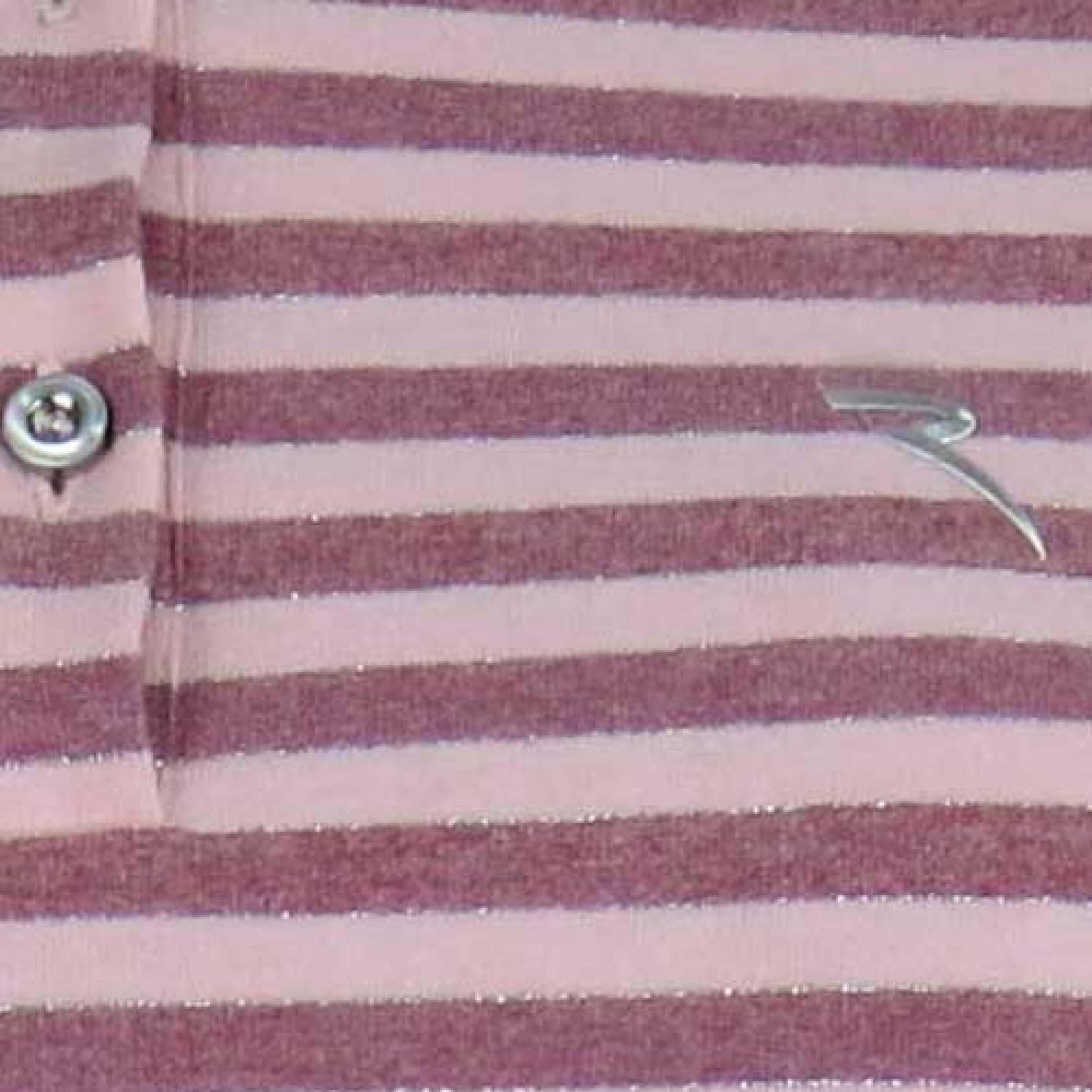 Chervo Polo Golfpolo lang Arm Albeggio 12G rosa gestreift Gr. 36