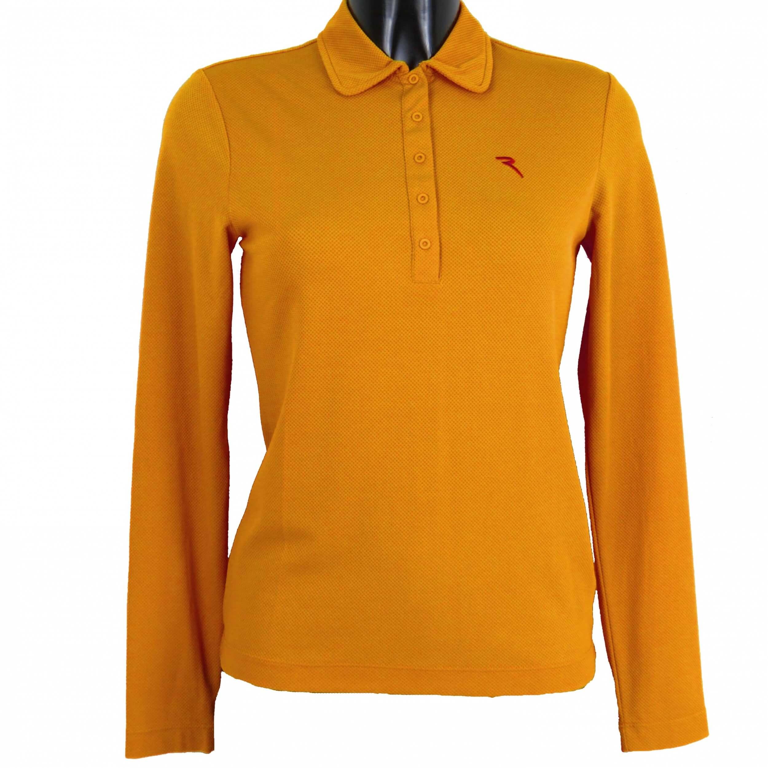 Chervo Polo Golfpolo lang Arm Astolfa 362 orange Gr. 36