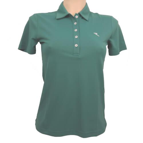 Chervo Damen Polo Appennini DRY MATIC 656 grün