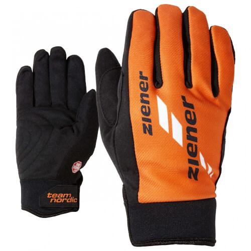 ZIENER Langlauf Handschuhe Nordic Race orange 738