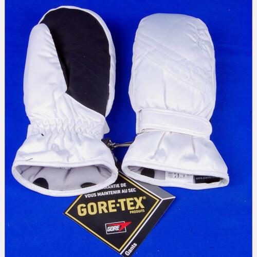 ZIENER Damen Ski Fäustlinge Goretex 1181GTX 01 weiß