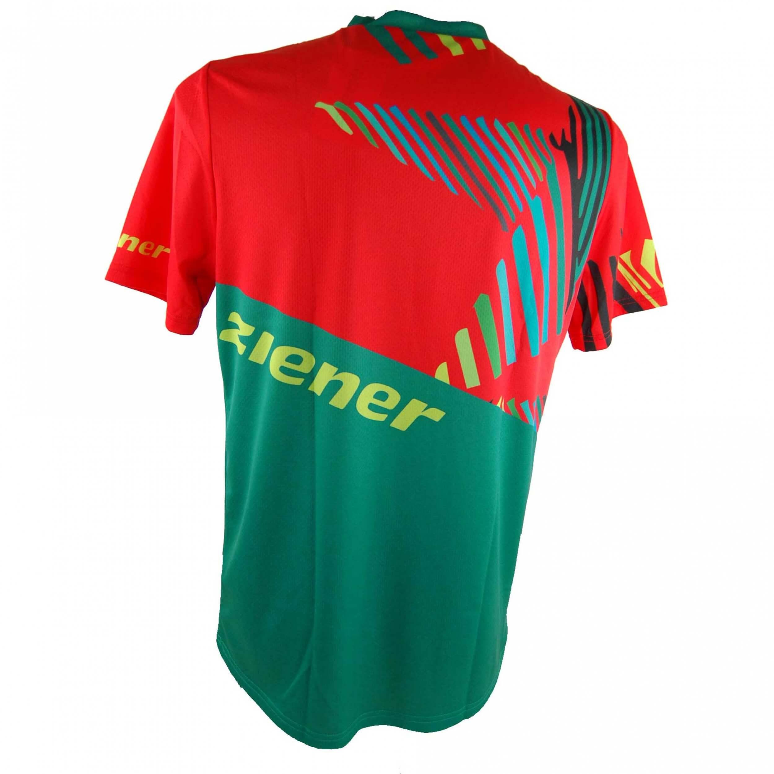 ZIENER Funktions Damen Bike Fahrradtrikot Teamwear VK01 rot grün 888 neu