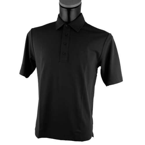 Chervo Herren Polo Abez DRY MATIC 999 schwarz ohne Stick neu