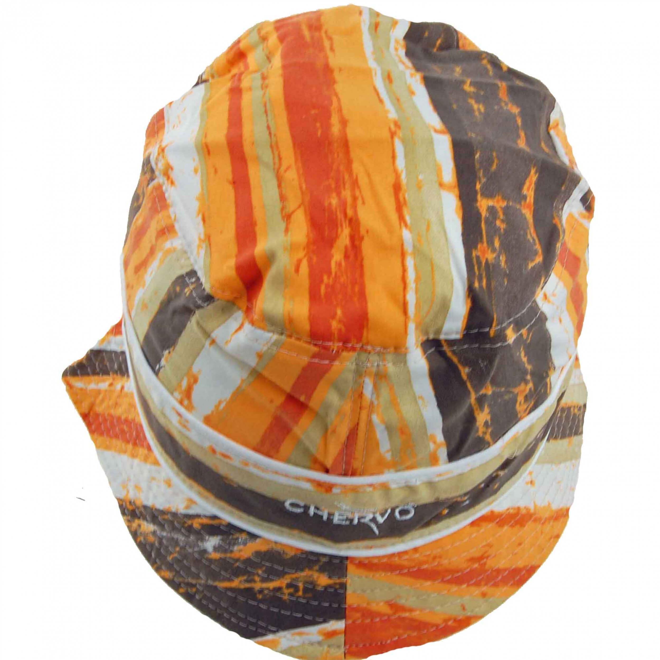 Chervo Sonnenhut Wecchioni DRY MATIC 16D orange gemustert
