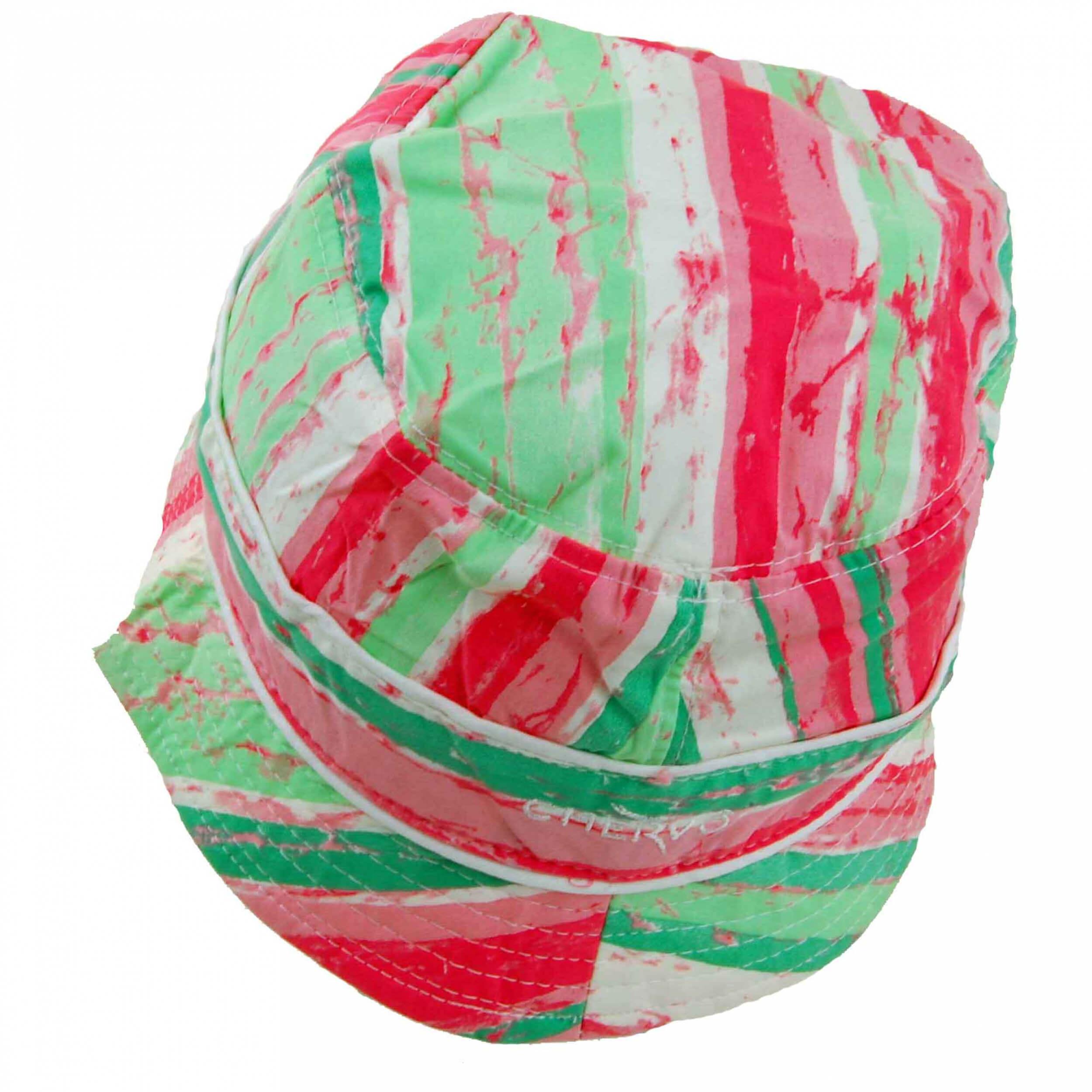 Chervo Sonnenhut Wecchioni DRY MATIC 90G pink grün gemustert