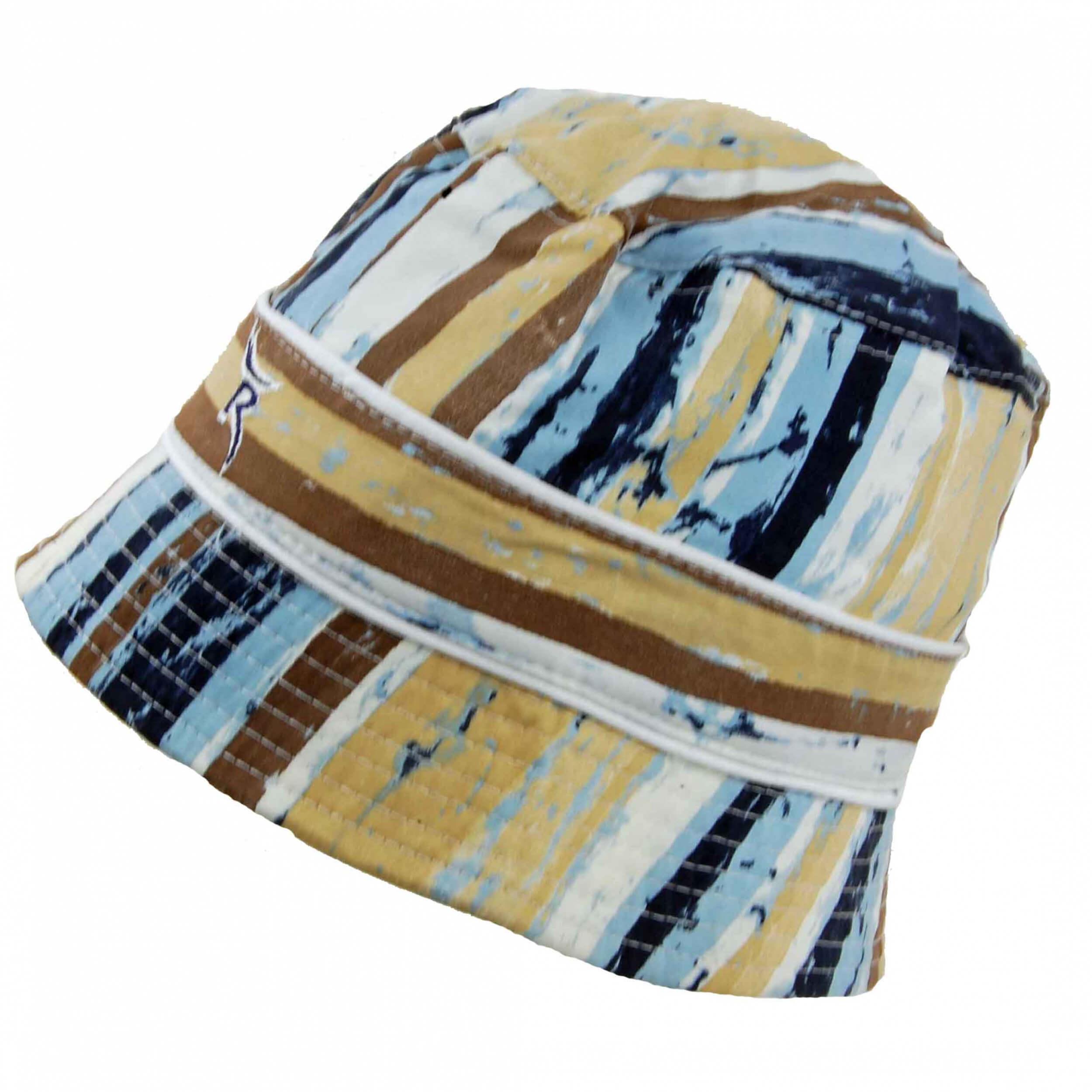 Chervo Sonnenhut Wecchioni DRY MATIC 05E blau gemustert