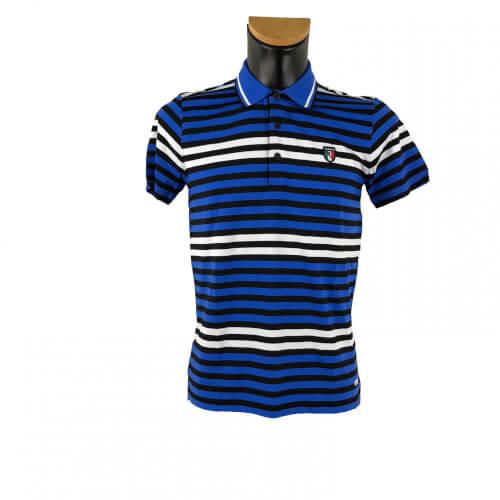 Chervo Herren Polo Accetta Sunblock blau 15E