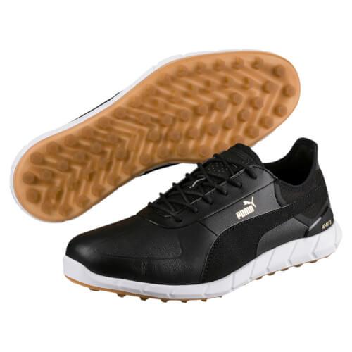 PUMA Herren Golf Schuhe IGNITE Spikeless Lux schwarz