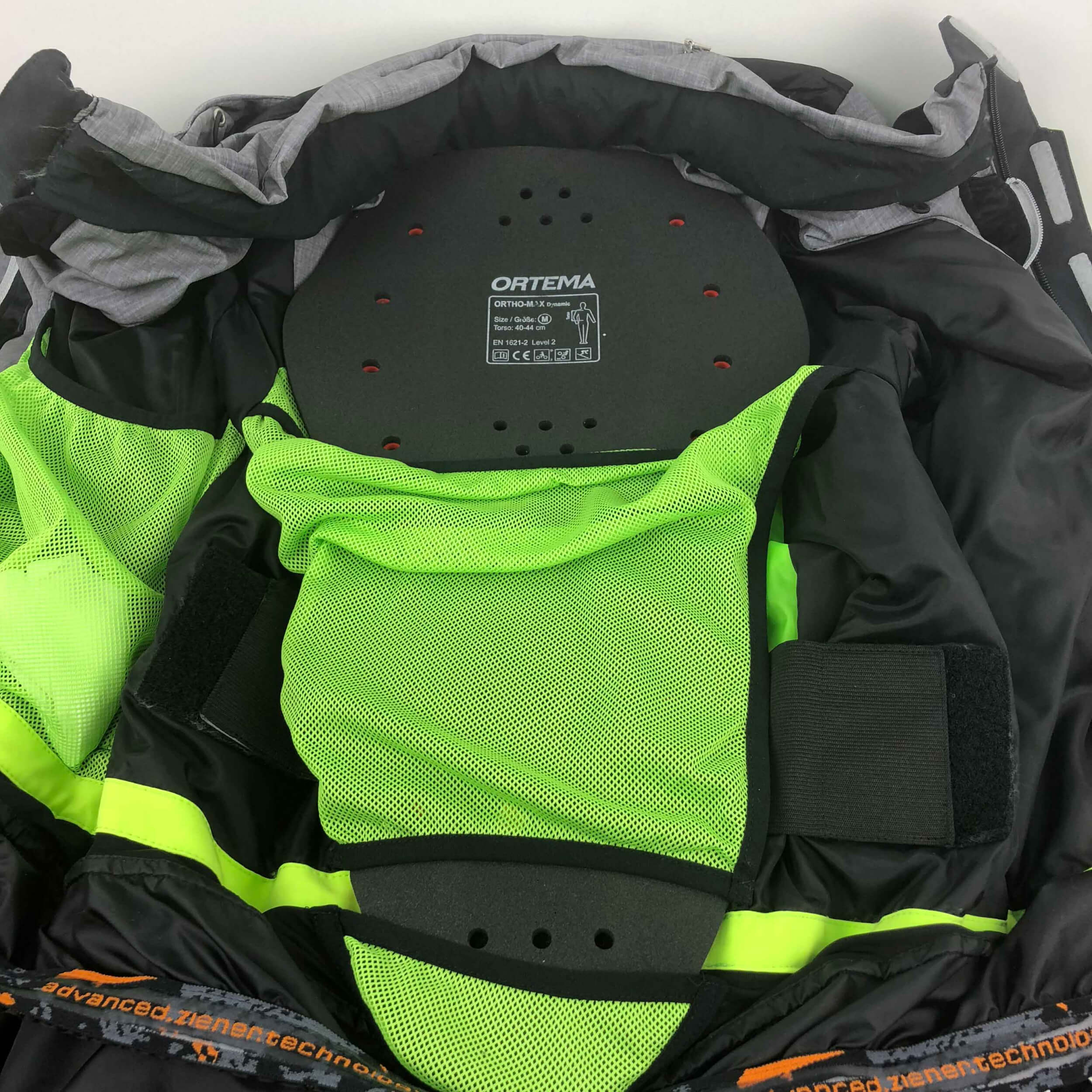 ZIENER Herren Aqua Shield Skijacke Trivor 778 grau