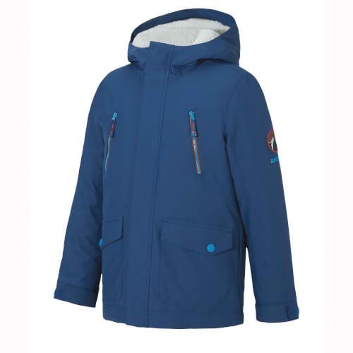 ZIENER Kinder Skijacke Abudo blau 143866