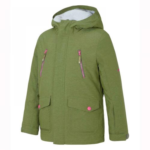 ZIENER Kinder Skijacke Abudo olive 846