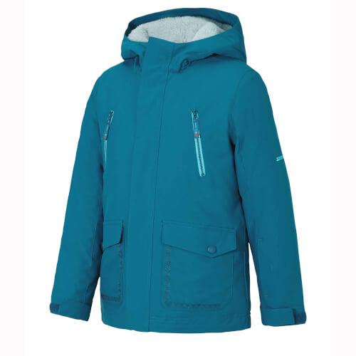 ZIENER Kinder Skijacke Abudo blau 953