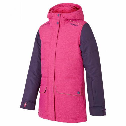 ZIENER Kinder Skijacke Ylvie pink 851