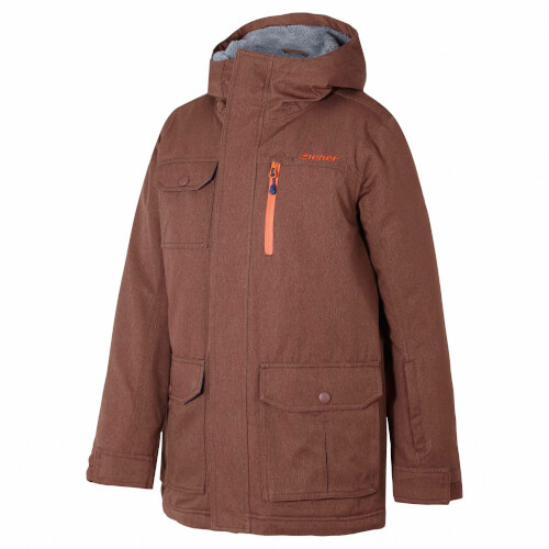 ZIENER Kinder Skijacke Yan copper 852
