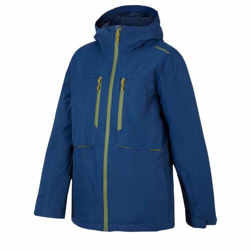 ZIENER Kinder Skijacke Yvan dunkelblau 143