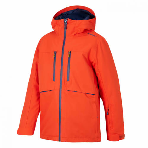 ZIENER Kinder Skijacke Yvan orange 860