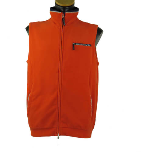 Chervo Herren Fleece Weste WIND LOCK Elochi orange 828