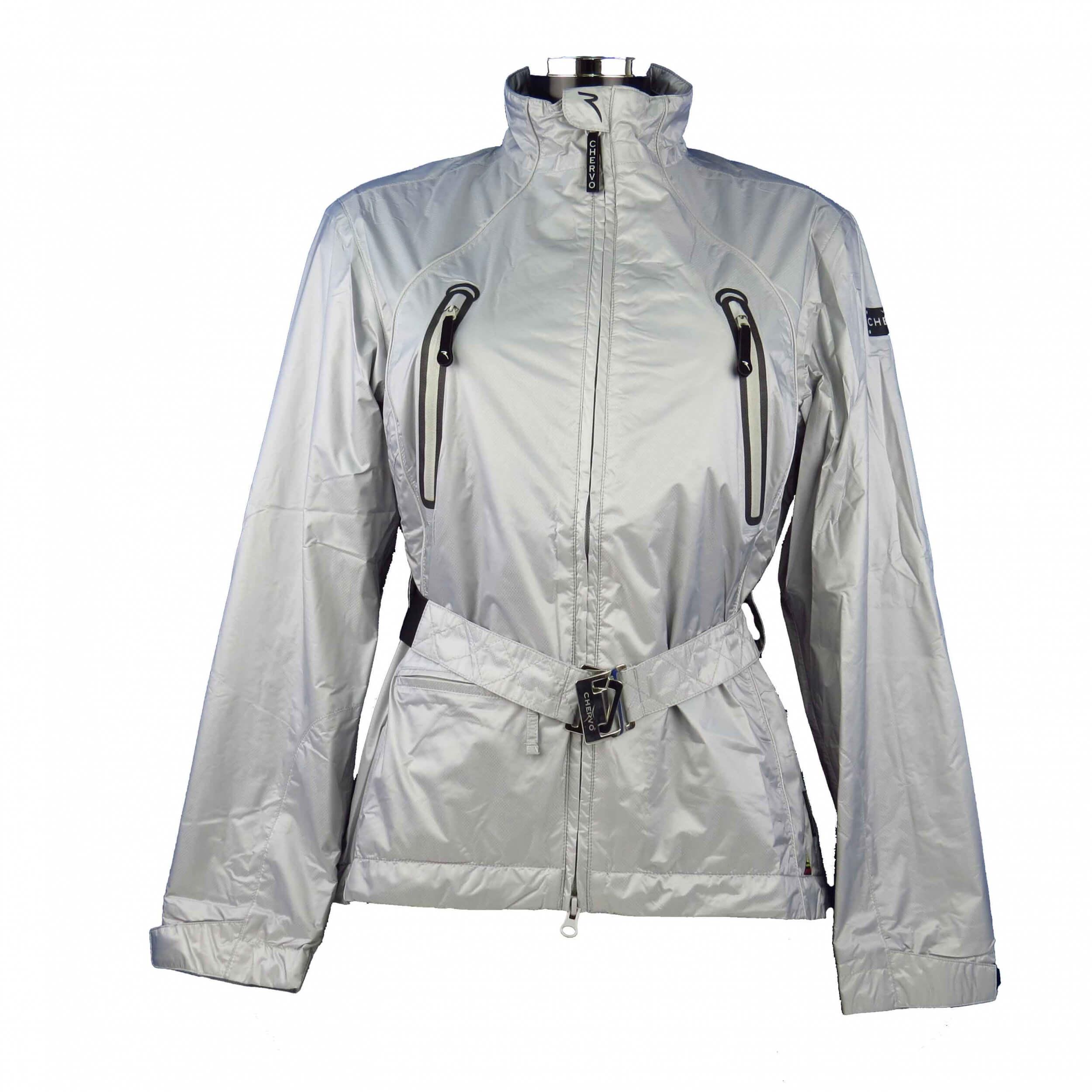 7a7a6a2d Chervo Golf Womens Rain Jacket Aqua Block Macaron Silver 198 New | eBay