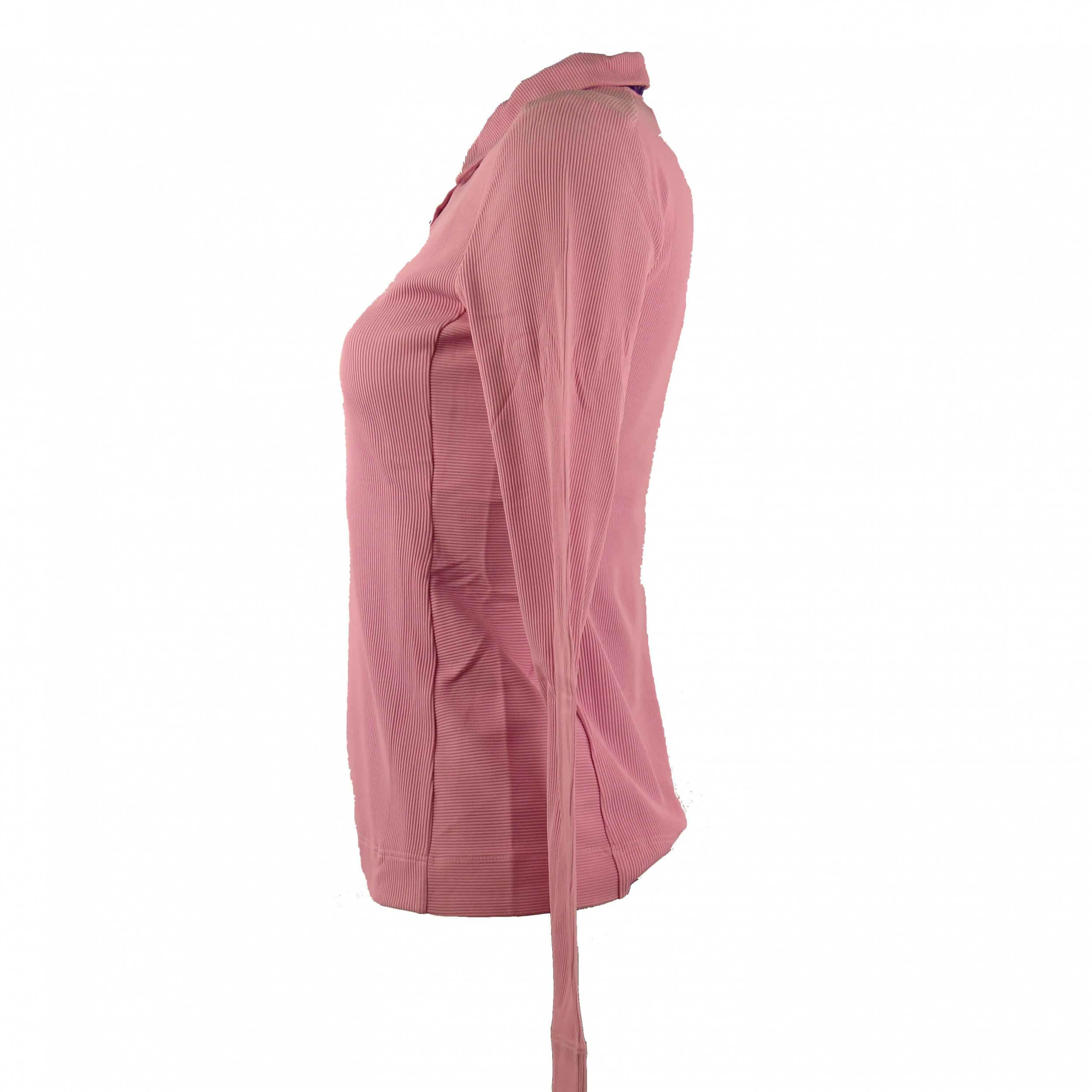 Chervo Damen Polo lang Arm PRO THERM Areo rosa 769