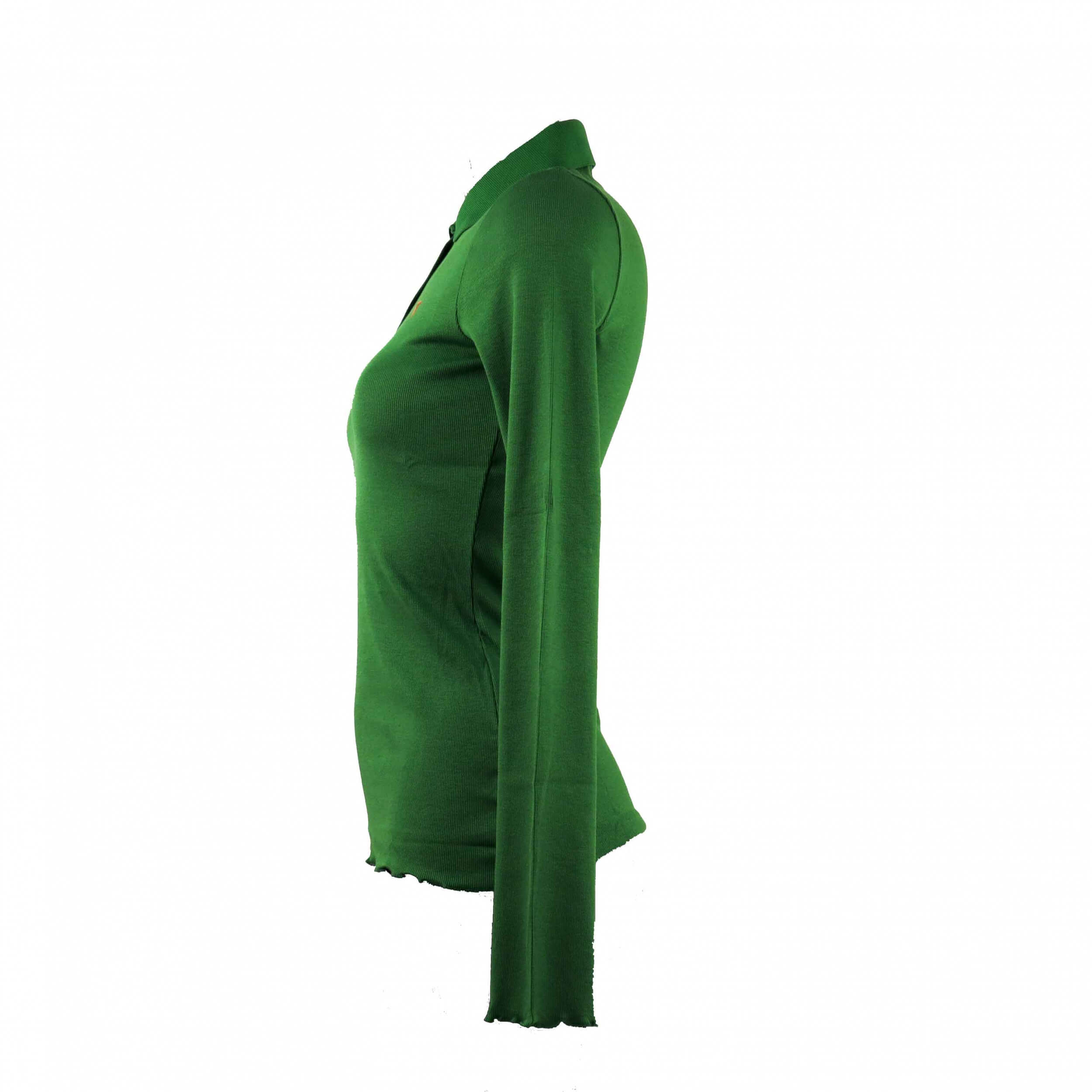 Chervo Damen Polo lang Arm COMFORT Astir grün 696