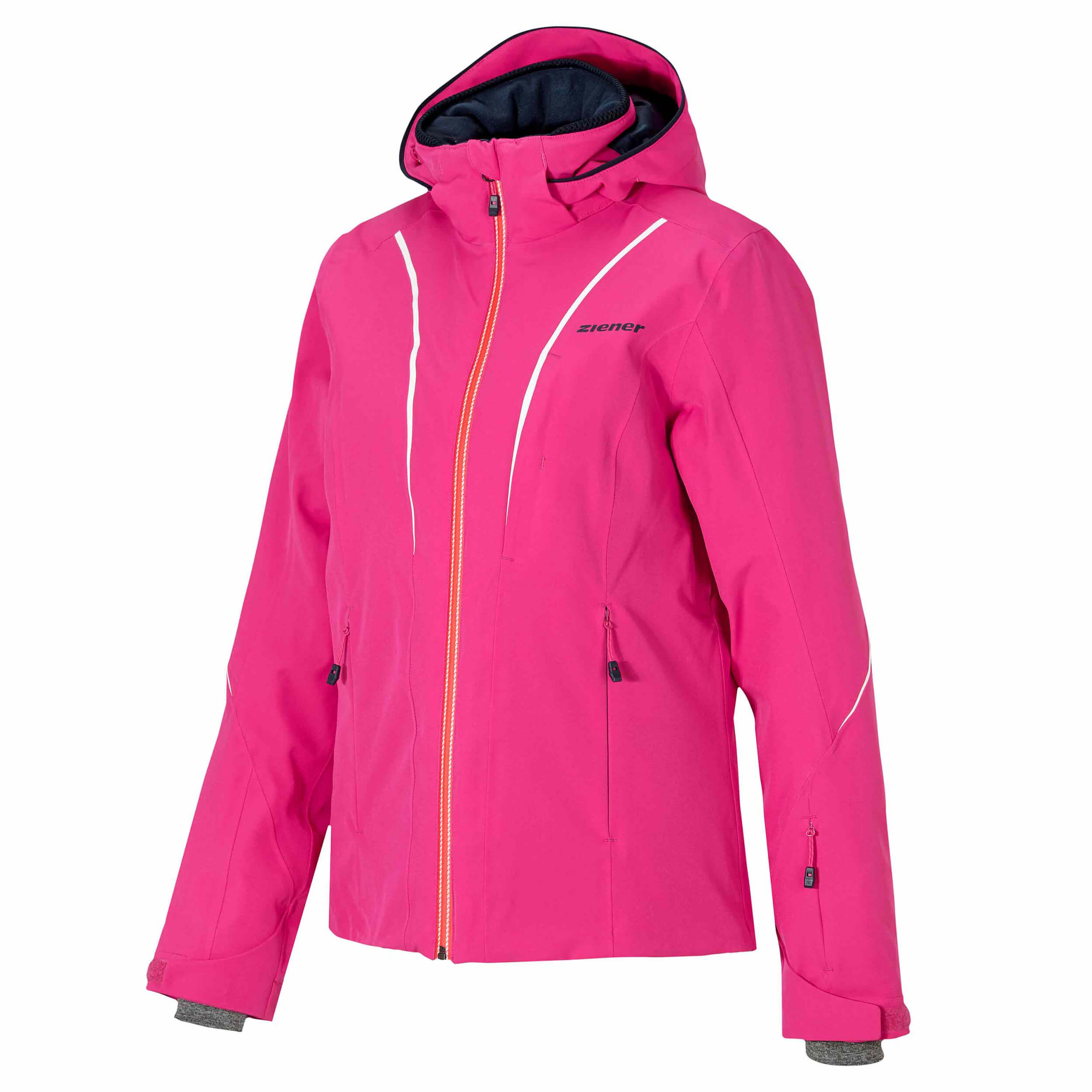 Details about Ziener Ladies Ski Jacket Tilda Lady Aquashield Pink 861 NEW show original title