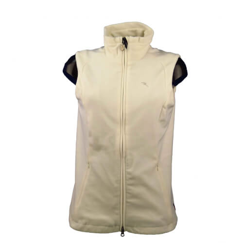 Chervo Damen Fleece Weste WIND LOCK Exact creme 112