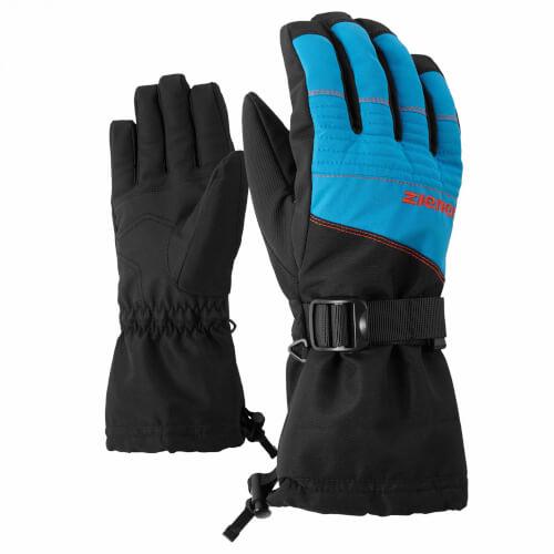 ZIENER Ski Handschuhe Gannik blau schwarz 230