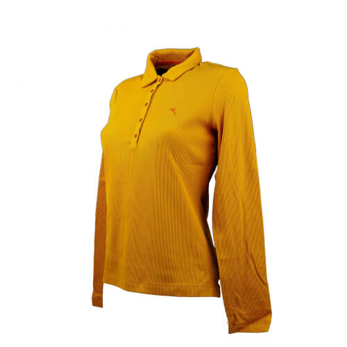 Chervo Damen Polo lang Arm PRO THERM Agiuto orange 262