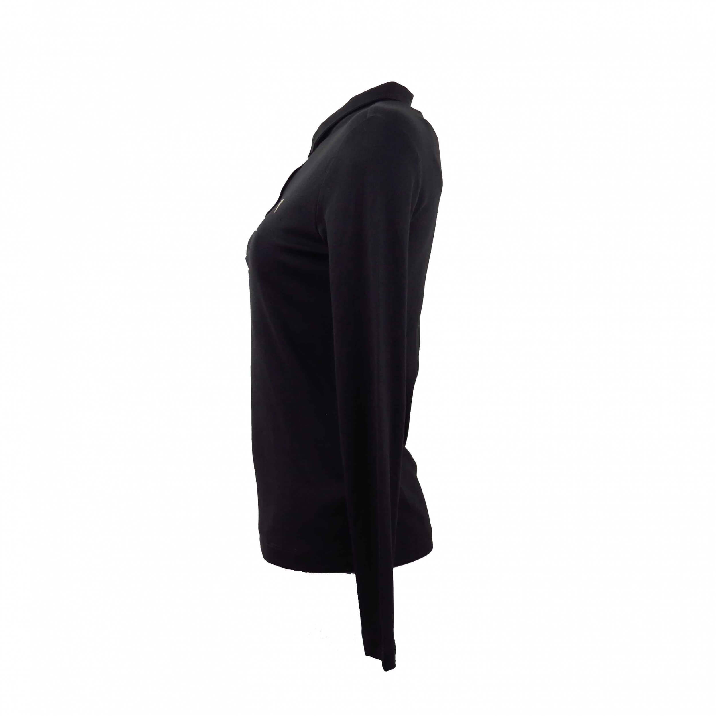 Chervo Damen Polo lang Arm COMFORT Ansa braun 494