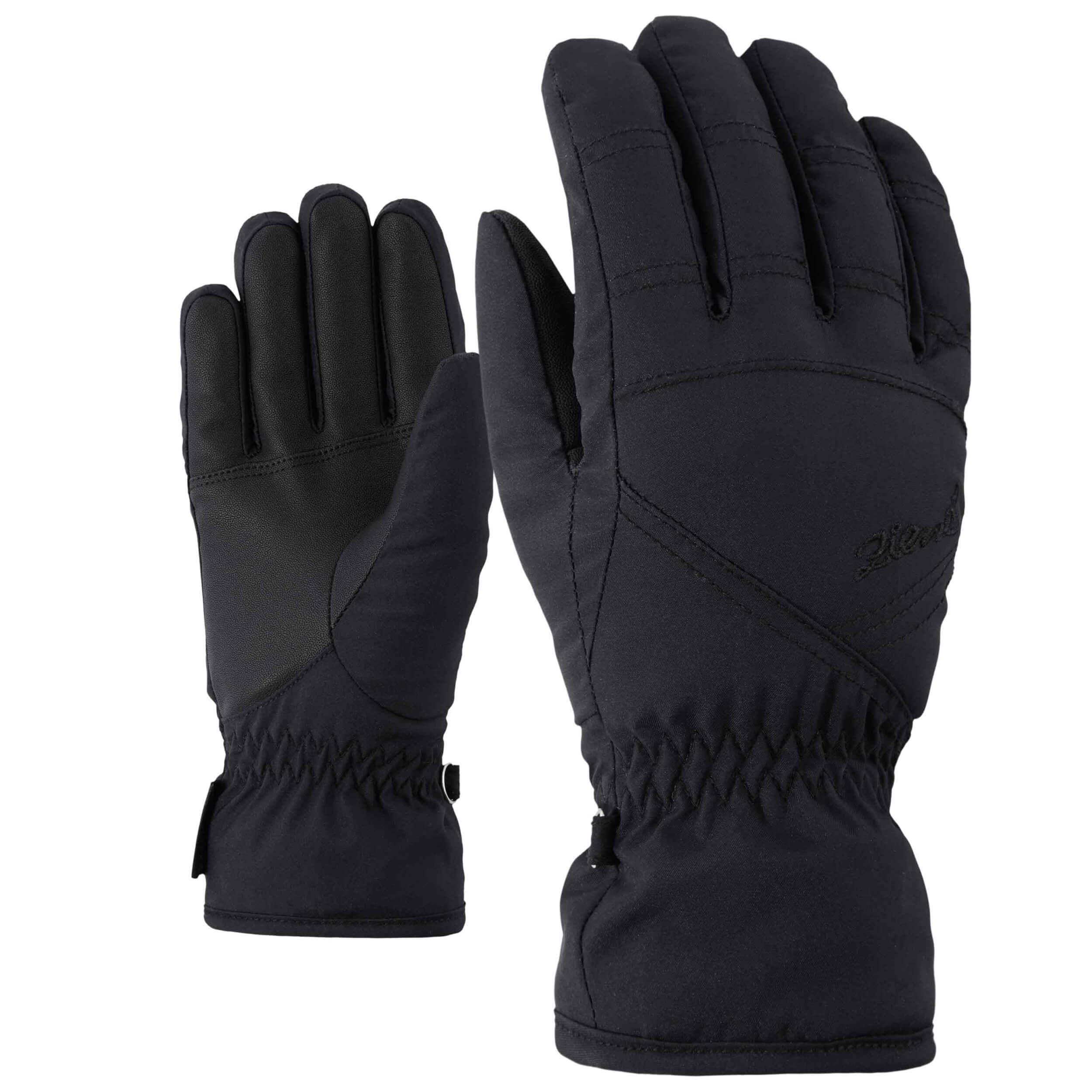 ZIENER Damen Ski Handschuhe GORETEX Kima schwarz 12