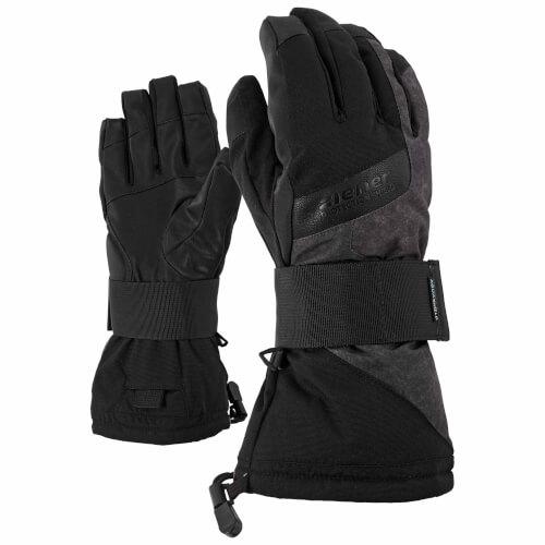 ZIENER Snowboard Handschuhe Matts grau schwarz 959