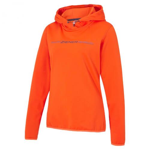 ZIENER Damen Hoodie Jinny orange 955