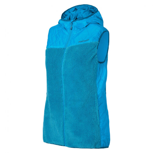 ZIENER Damen Teddy Fleece Weste Jarra blau 230