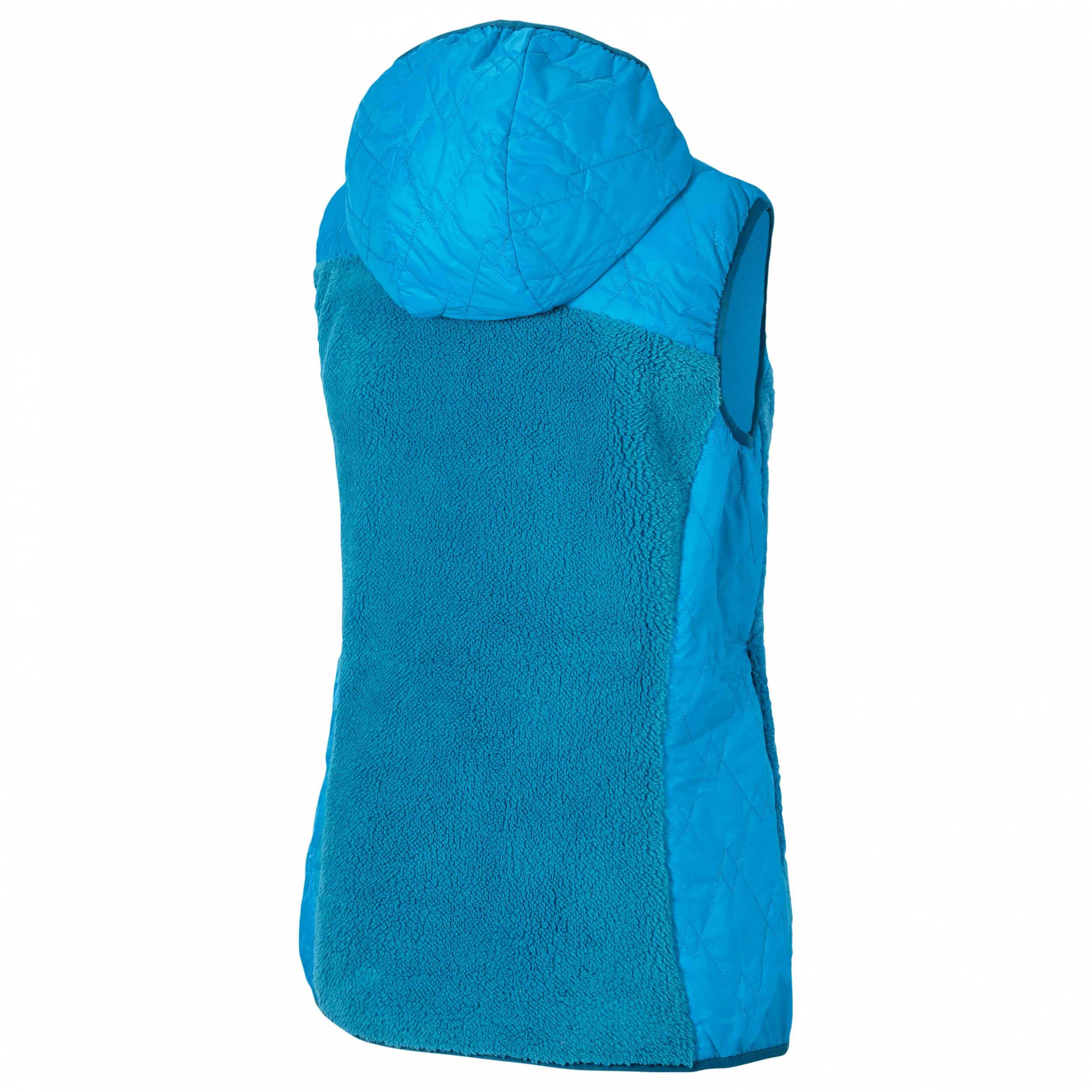ZIENER Damen Teddy Fleece Weste Jarra blau 230