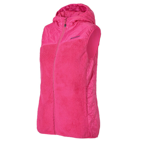 ZIENER Damen Teddy Fleece Weste Jarra pink 861